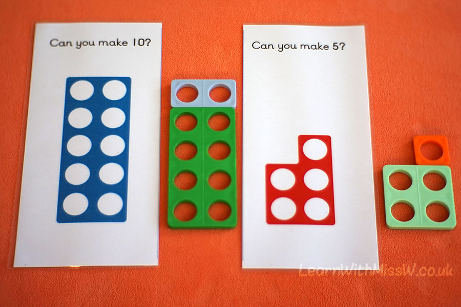 Adding resource: numicon : Learn With Miss W